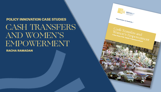 Cash Transfers and Women's Empowerment